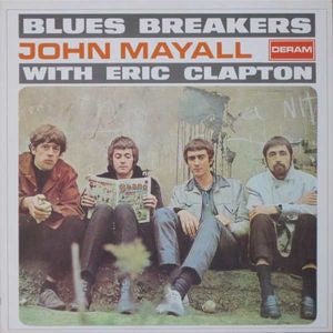 John Mayall With Eric Clapton ‎– Blues Breakers