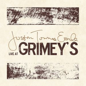 Justin Townes Earle ‎– Live At Grimey's