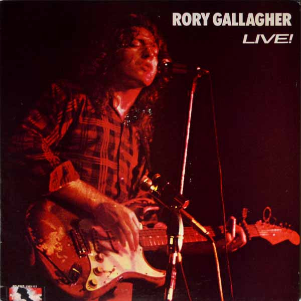Rory Gallagher ‎– Live! In Europe