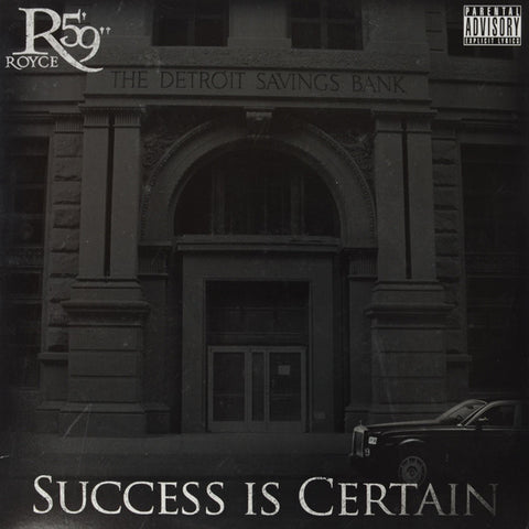 "Royce Da 5'9"" ‎– Success Is Certain"
