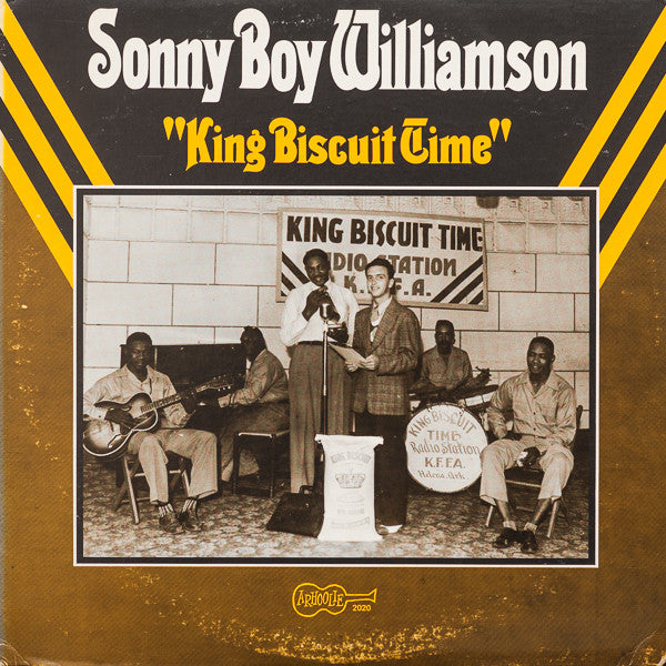 Sonny Boy Williamson ‎– King Biscuit Time