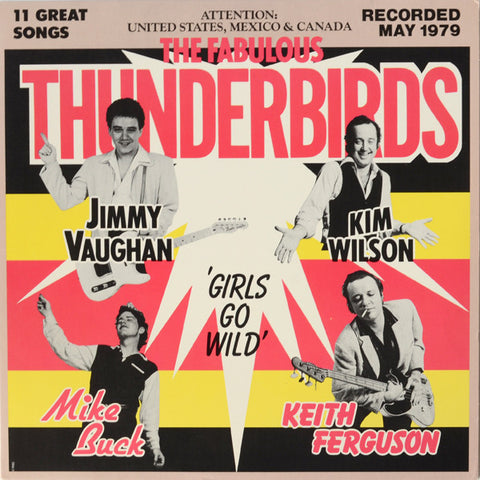 The Fabulous Thunderbirds ‎– Girls Go Wild