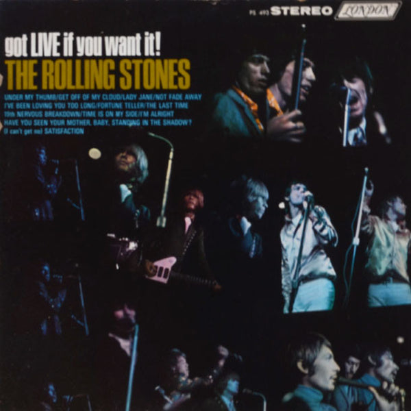 The Rolling Stones ‎– Got Live If You Want It!