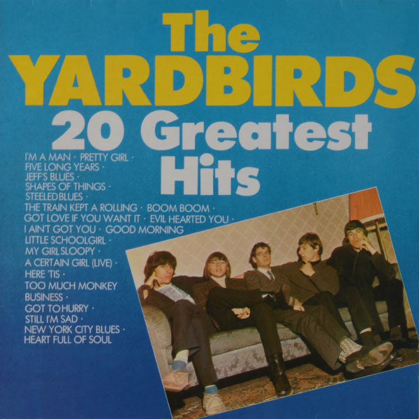 The Yardbirds ‎– 20 Greatest Hits