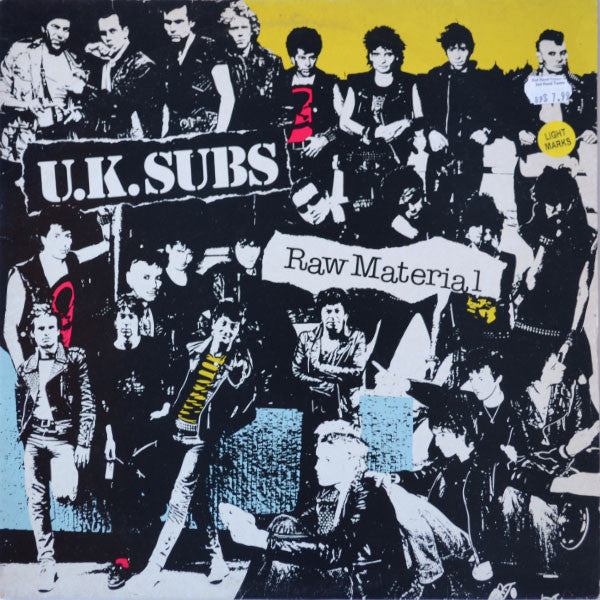 UK Subs ‎– Raw Material