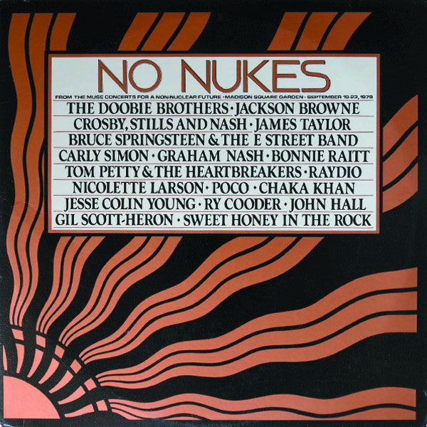 Various ‎– No Nukes - From The Muse Concerts For A Non-Nuclear Future - Madison