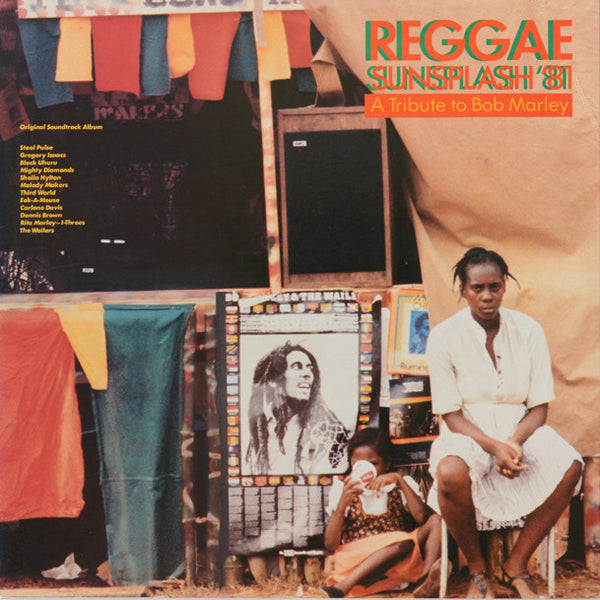 Various ‎– Reggae Sunsplash '81 A Tribute To Bob Marley