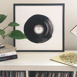 Let It Be - Vinyl Print 50cm x 50cm