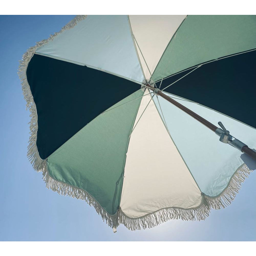 THE PREMIUM BEACH UMBRELLA - SANTORINI