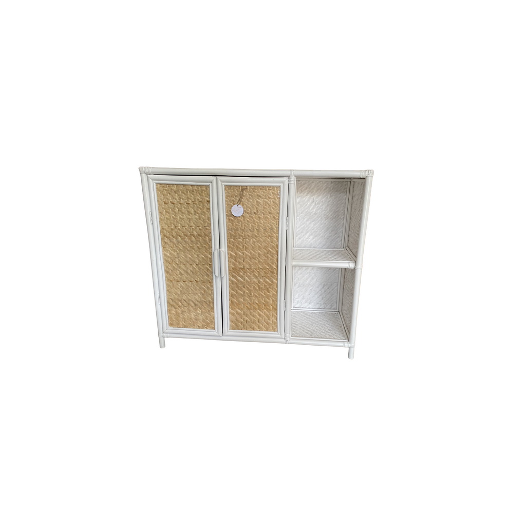 The Atari Cabinet - White + Natural (IN STOCK)