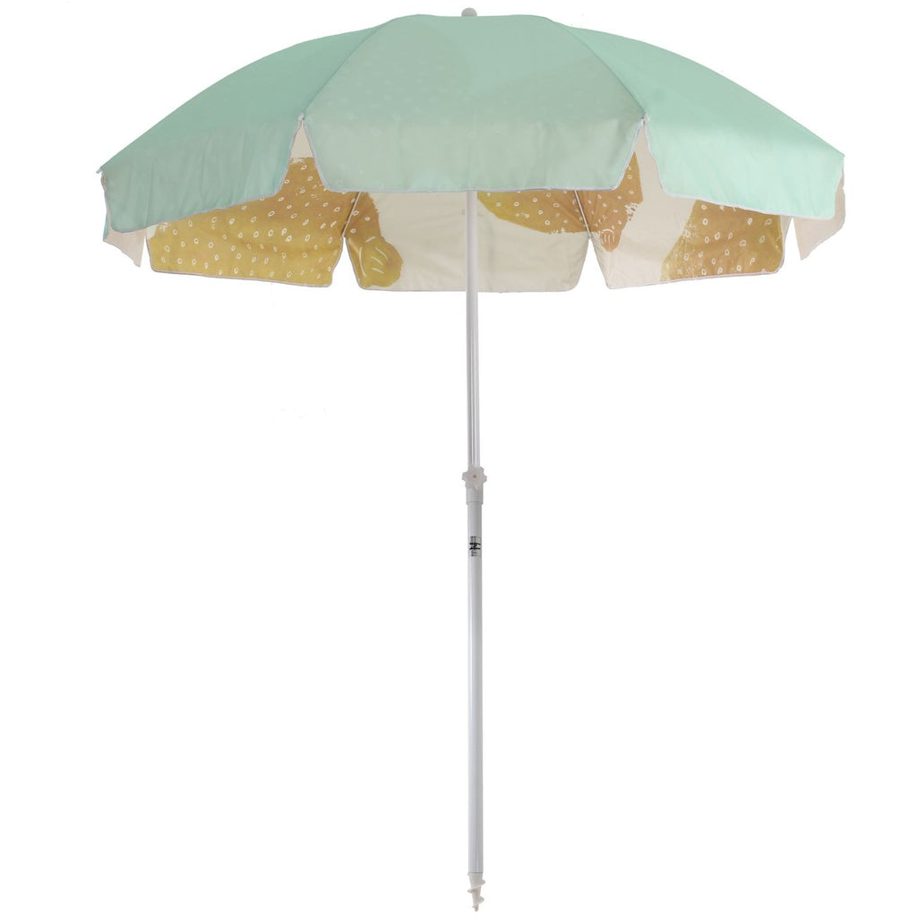 FAMILY BEACH UMBRELLA - SAGE LEMONS