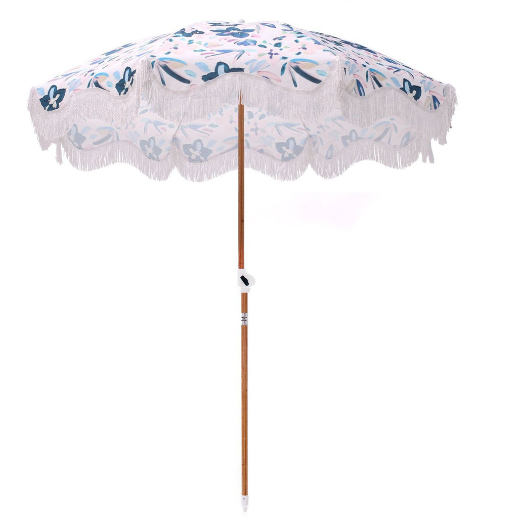 SCF Floral Beach Umbrella