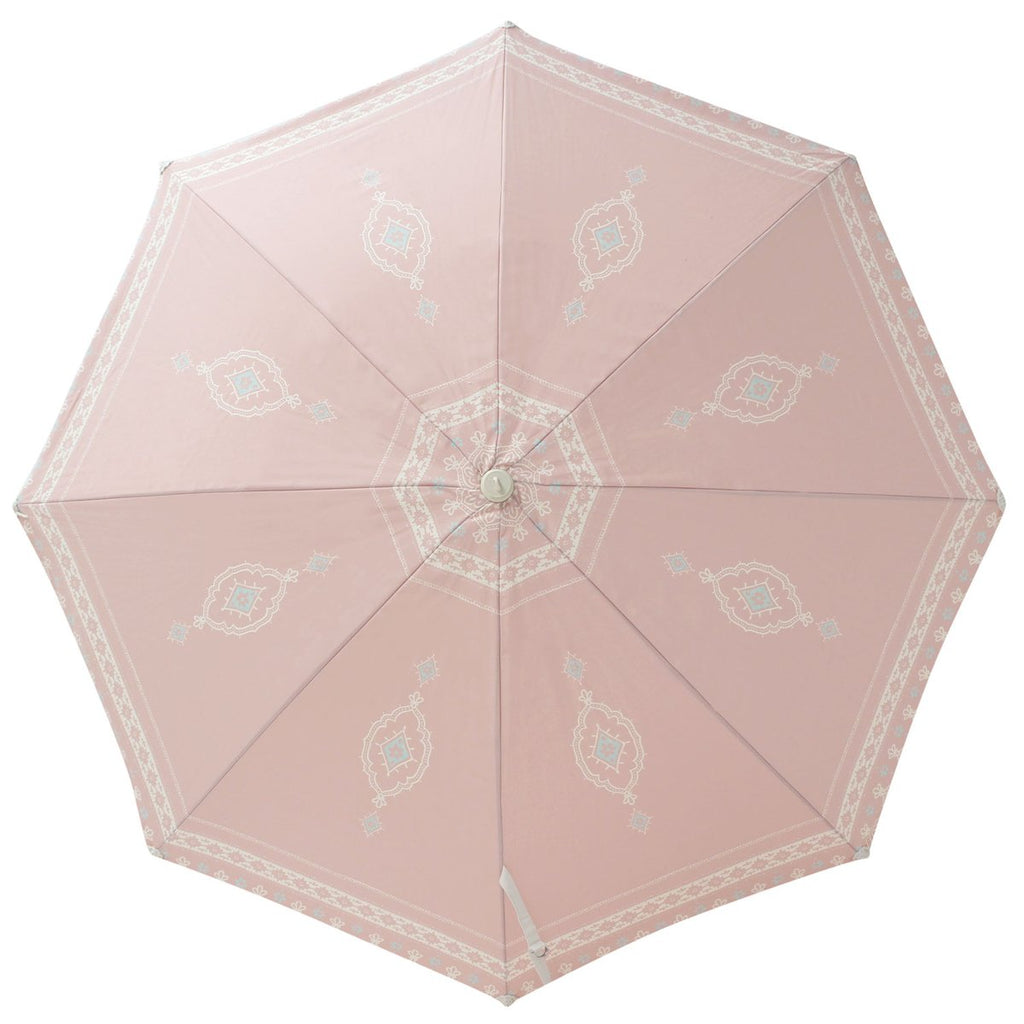 Temple Pink Beach Umbrella