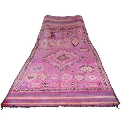 VINTAGE BENI M'GUILD PURPLE DIAMOND - 370 X 180