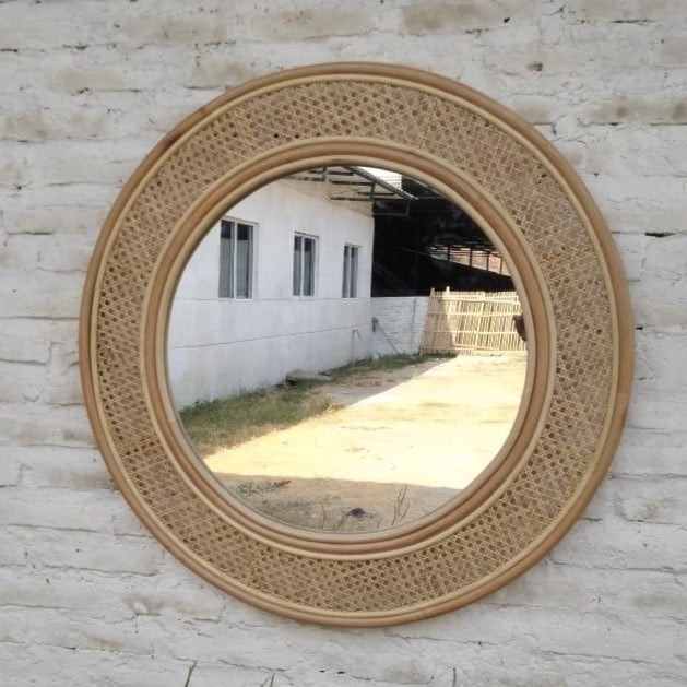 The Suffolk Round Mirror