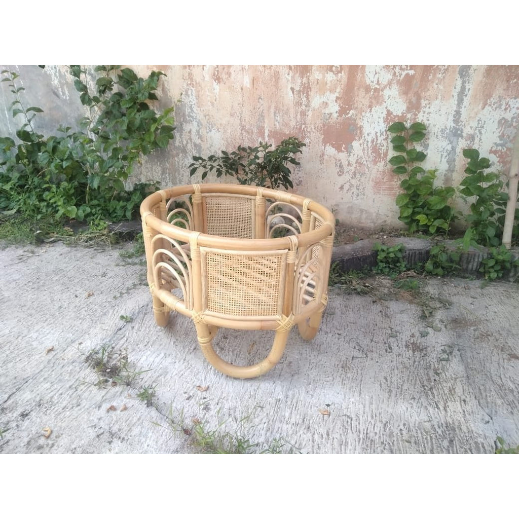 The Ohana - Mini - Rattan Dolls Bassinet (IN STOCK)
