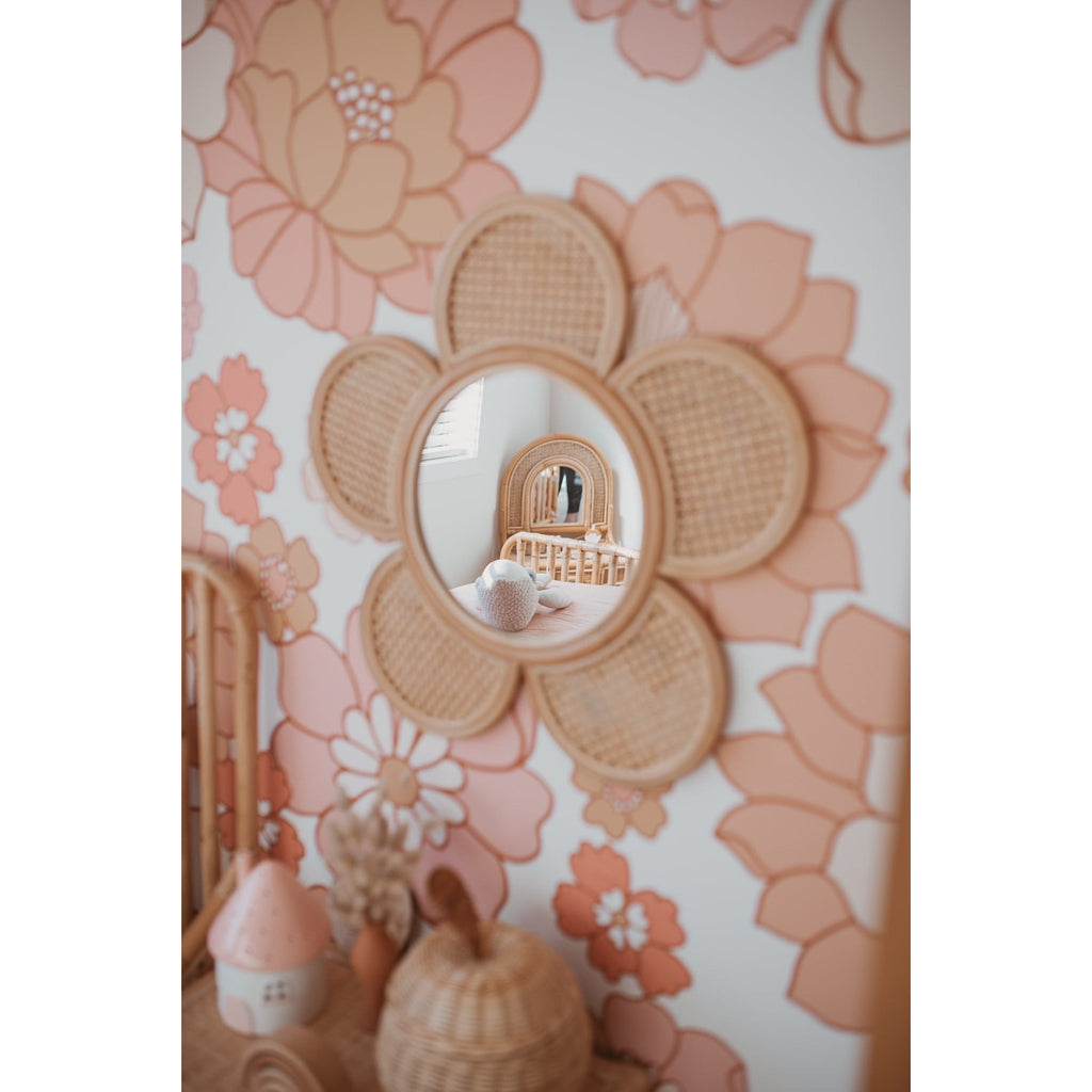 Flower Mirror (IN STOCK)