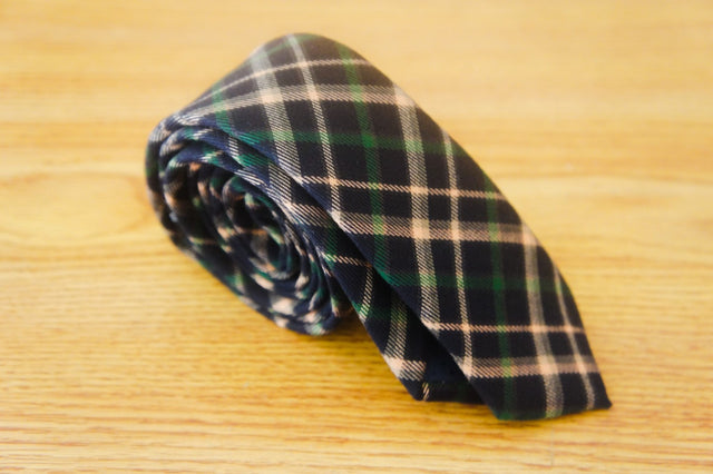Hunter Plaid - Black and Green - The Dapper Cats - 1