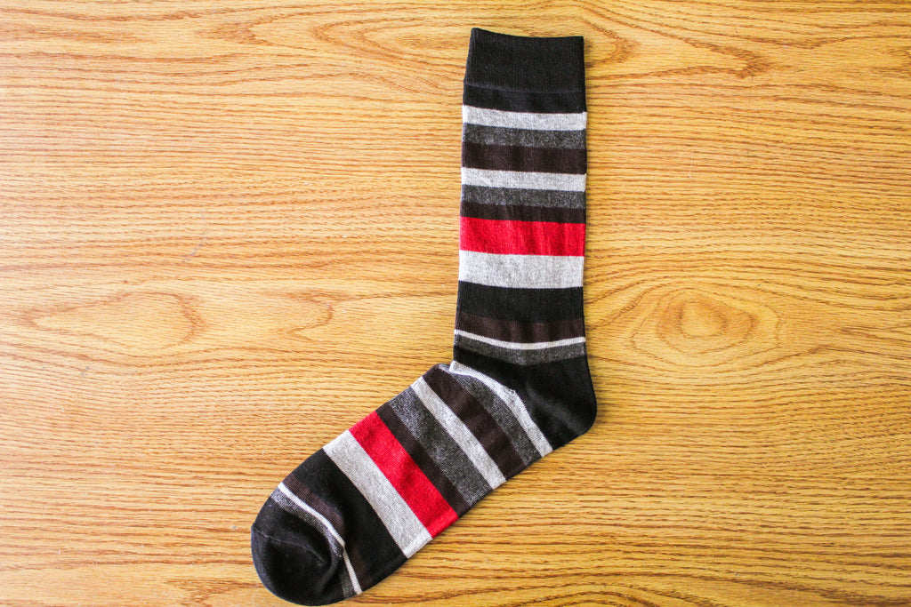 Cherry Wood II Stripe - Brown - The Dapper Cats
