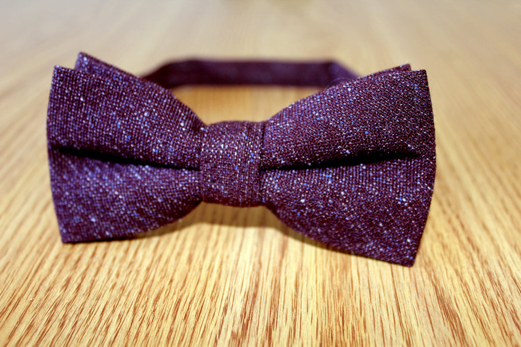 Classic Bow - Maroon (Pretied)