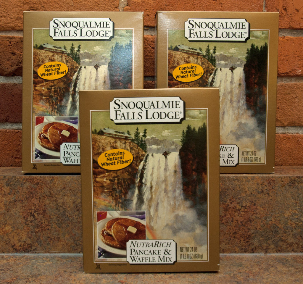 Snoqualmie Falls Lodge NutraRich Pancake & Waffle Mix (Box)