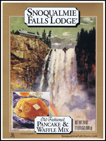 "Snoqualmie Falls Lodge ""Old Fashioned"" Pancake & Waffle Mix (Box)"