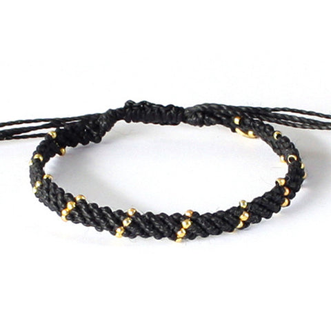 Bracelet - Blue/Gold (Available in 4 colors)