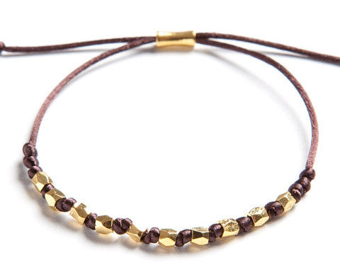 Classy Bracelet Brown (Available in 3 colors)