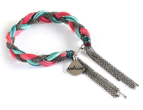 Applause Bracelet - Pink (Available in 2 colors)