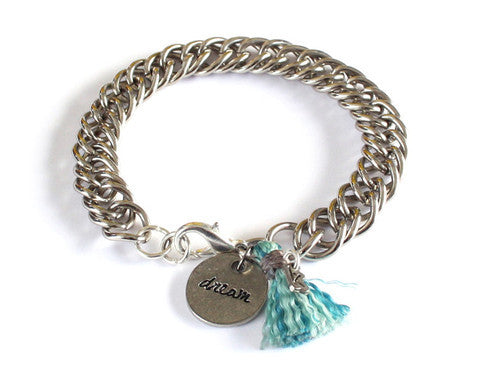 Dream Bracelet - Light Blue (Available in 2 colors)