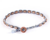 Bracelet - Blue/Copper (Available in 4 colors)