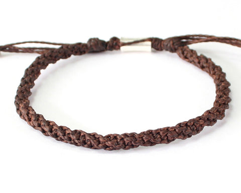 Tube Bracelet - Brown (Available in 3 colors)