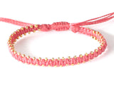 Bracelet - Pink/Gold (Available in 3 colors)