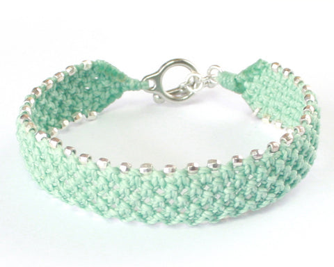 Cuff Bracelet - Spring Break/Silver (Available in 4 colors)