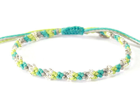 Love Bracelet - Gray/ Blue/ Beige (Available in 3 colors)
