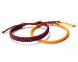 Set of 2 Strands - Red White (Available in 10 colors)