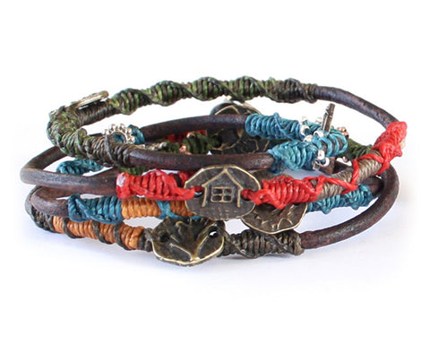 Wakami Dream Leather Bracelet