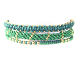 Set of 3 Bracelet - Green (Available in 6 colors)