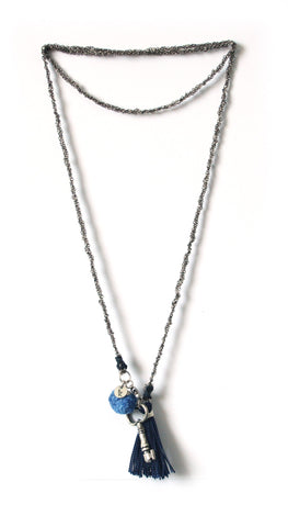 Unlock Necklace- Stormy Weather (Available in 3 colors)