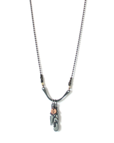 Rebirth Kaminal Juyu - Animals and Obsidian Necklace