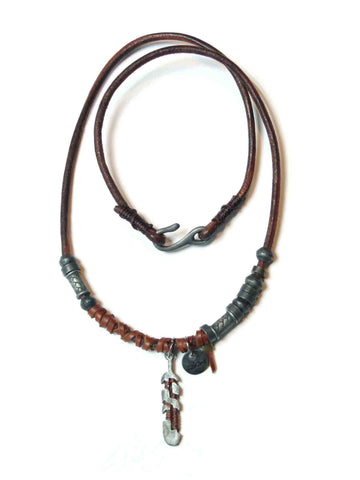 Animals Leather Necklace