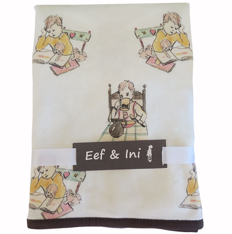 Boys at Work Baby Blanket