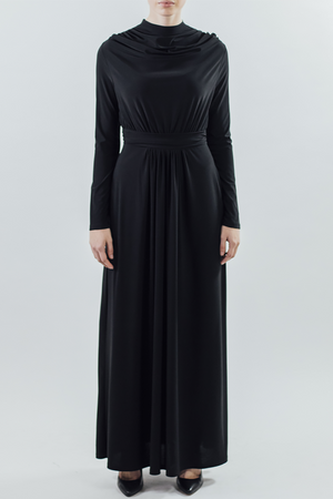 Drape/Dress - Black