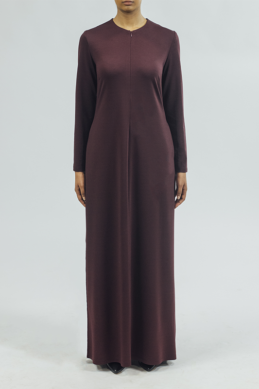 Pencil/Dress - Plum
