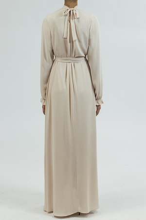 Chiffon/Dress - Cream