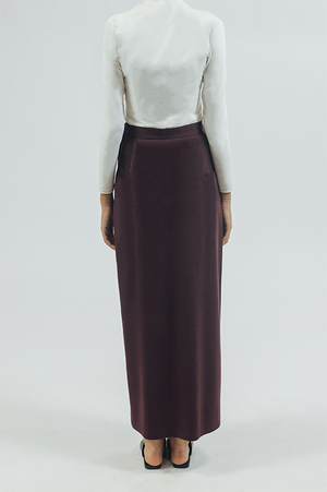 Wrap/Skirt - Plum