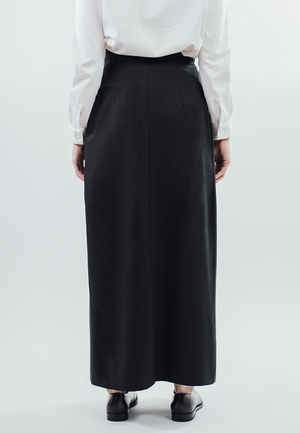 Pleat/Skirt - Black