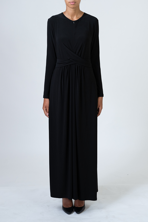 Knot Dress - Black