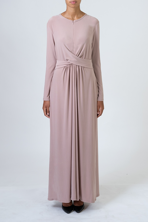 Knot Dress - Blush