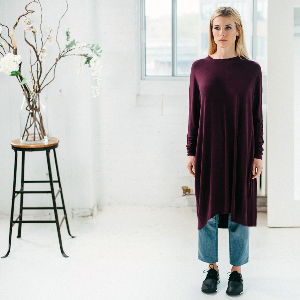 Batwing/Top - Plum